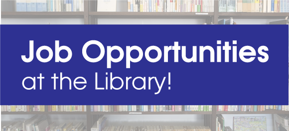 Library Job Openings - More Information