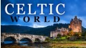 celtic world with a castle and stone bridge