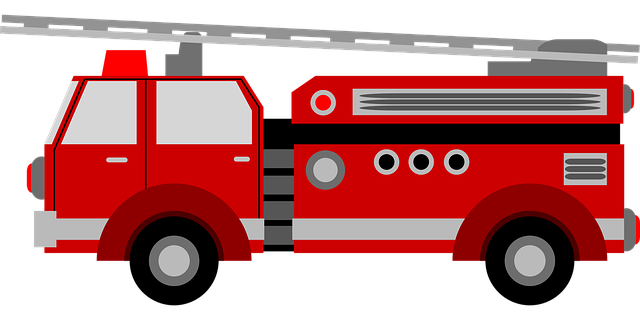 Illustration of Fire Truck