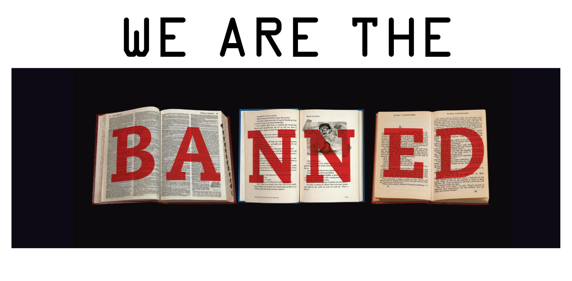 We are the BANNED bookmark image