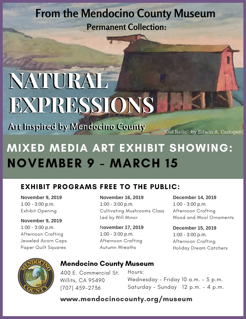 Natural Expressions Art Exhibit updated 10.30.19